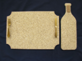 Serving Tray/Cheese Board Set